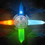i cristalli e i 4 elementi