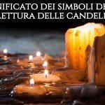 significato simboli lettura candele