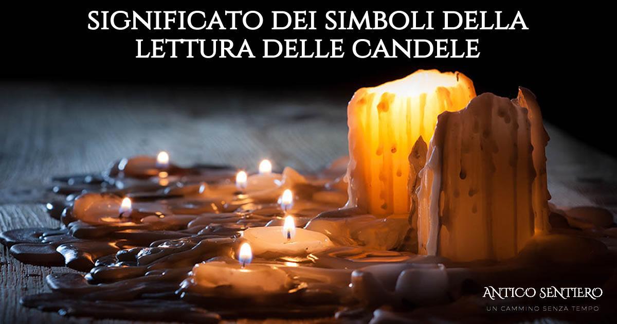 Leggere la cera delle candele : significato dei simboli
