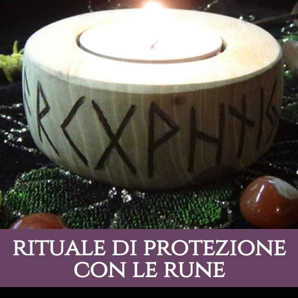 Rituale di protezione con le rune e le candele