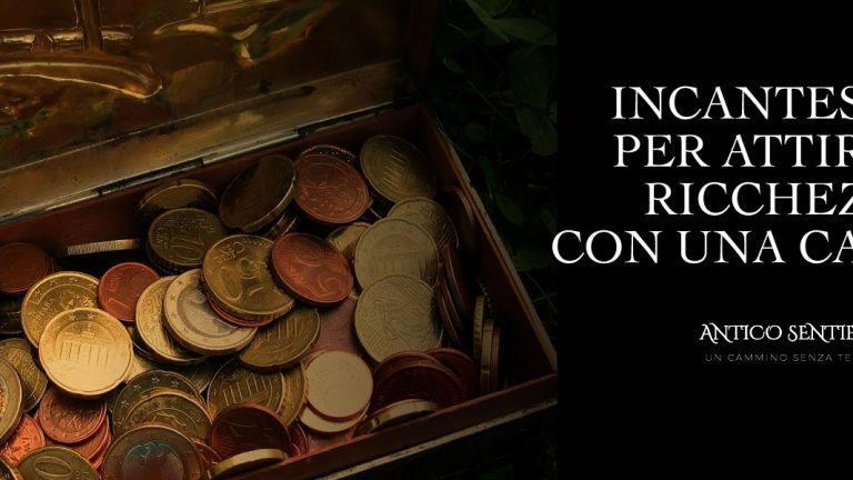 incantesimo per attirare ricchezza con la candela dorata