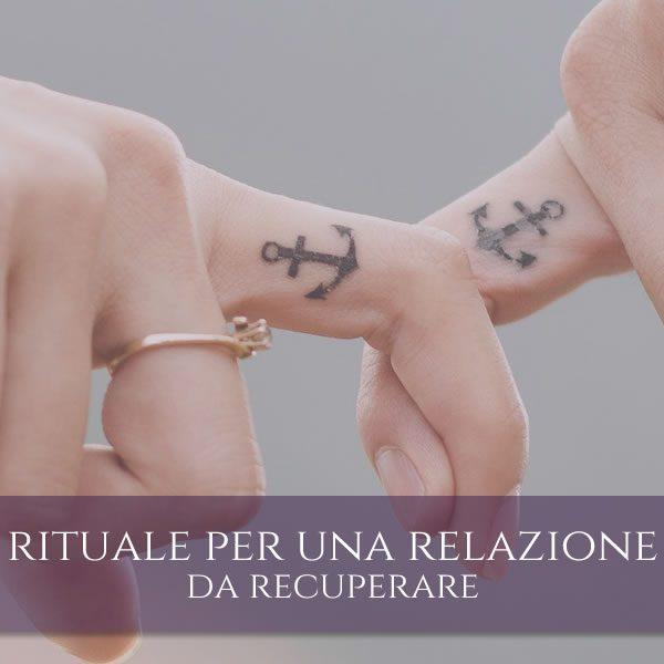 Rituale per recuperare una relazione d'amore