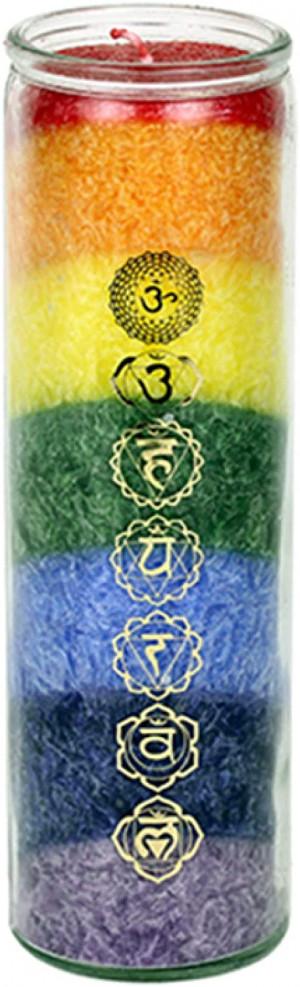 candela sette chakra
