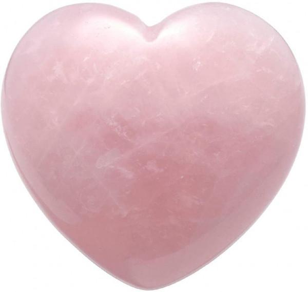 cuore quarzo rosa