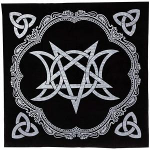 panno da altare wicca
