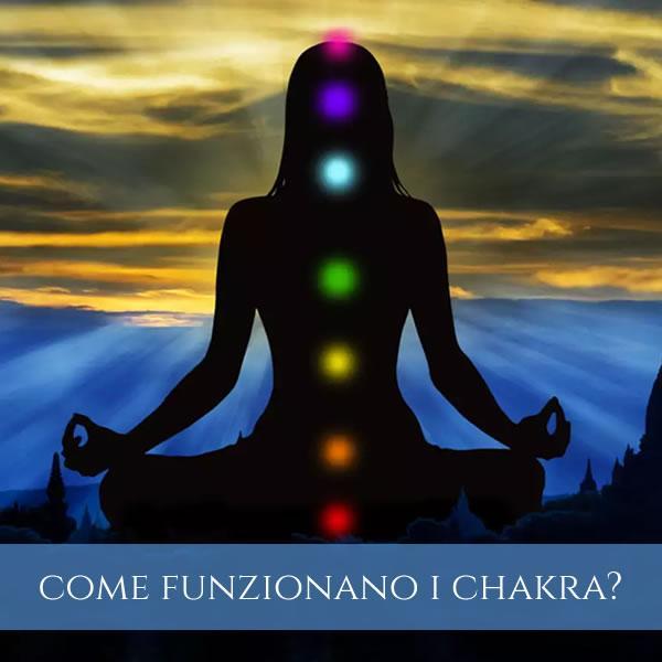 come funzionano i chakra